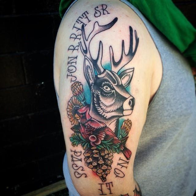 Hunting tattoo 21