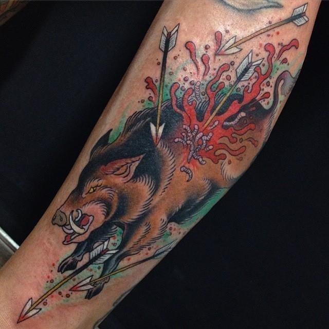Hunting tattoo 35