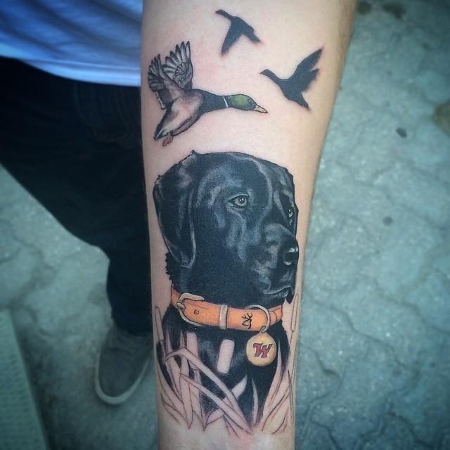 Hunting tattoo 39