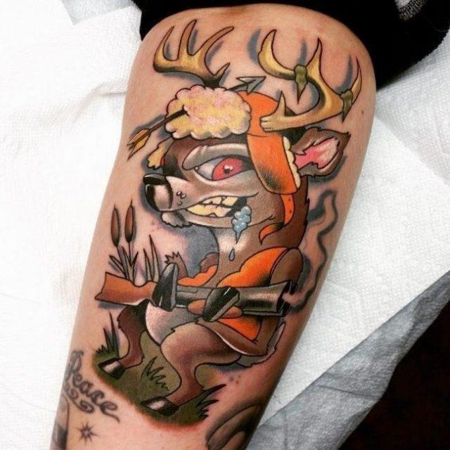 Hunting tattoo 59 650×650
