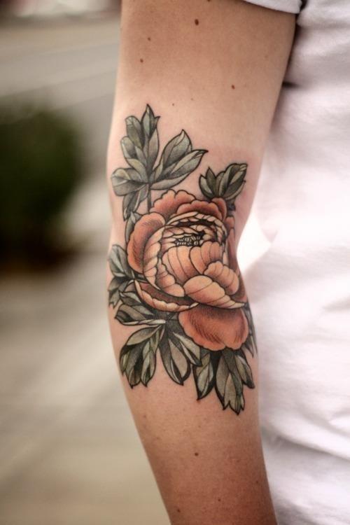 Inner elbow tattoo86