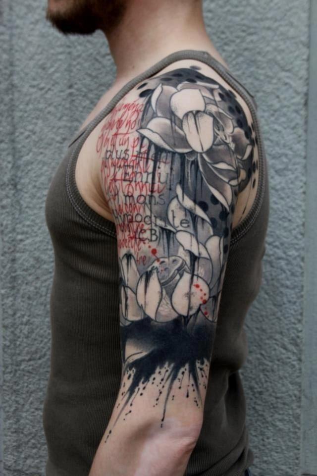 Inspiration sleeve tattoo