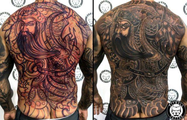 Japanese tattoo style 1280×817