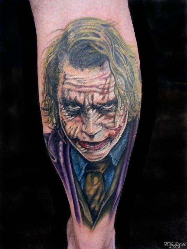 Joker tattoo 1957
