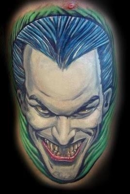 Joker tattoo 5