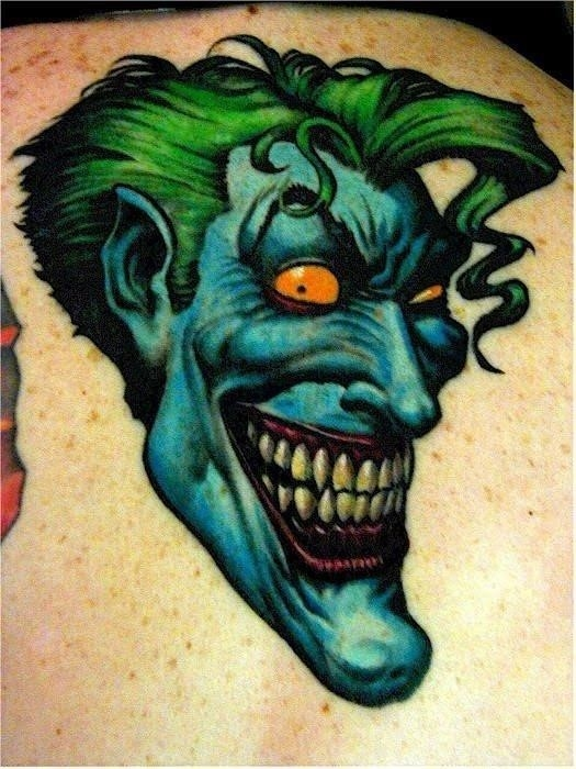 Joker tattoo 52