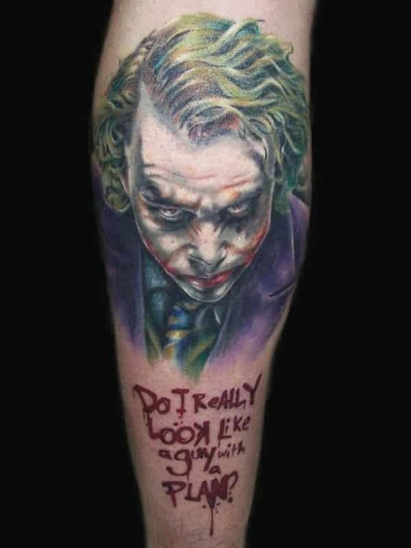 Joker tattoos 05