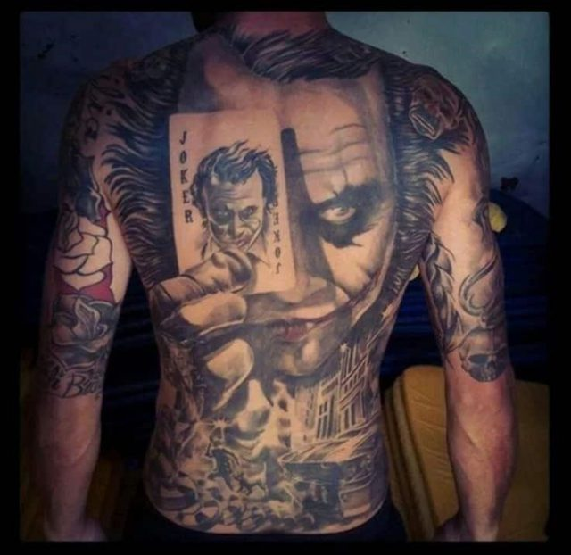 Joker tattoos 11