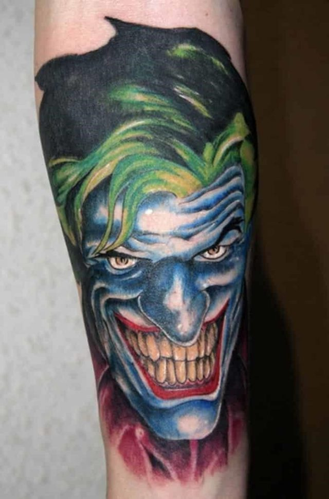 Joker tattoos 12