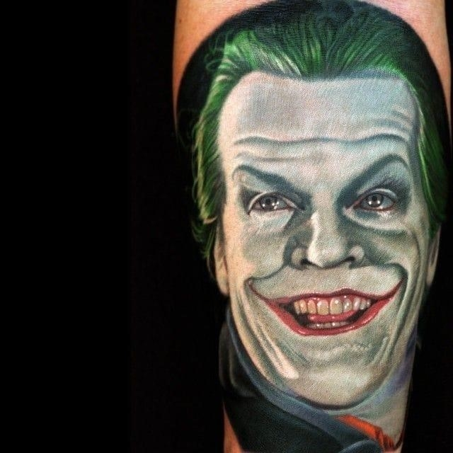 Joker tattoos 29