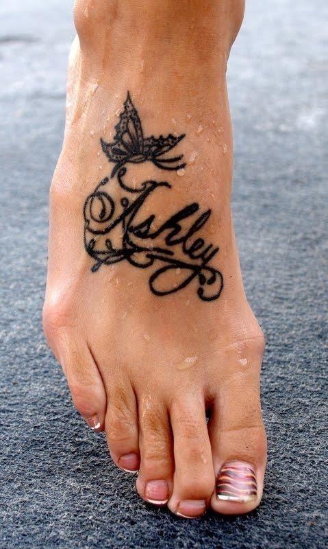 Kids name tattoo 2
