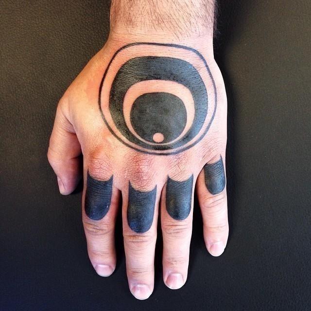 Knuckle tattoo 25