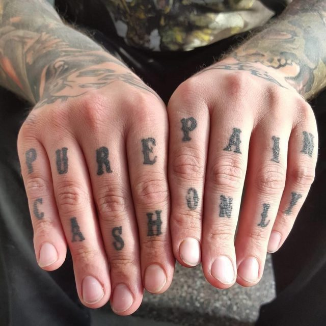 Knuckle tattoo 3