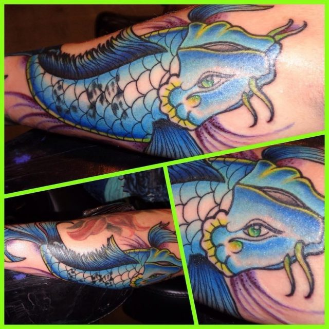 Koi fish tattoo 19