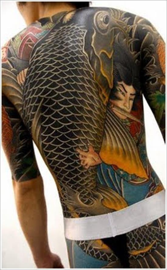 Koi fish tattoo designs 33