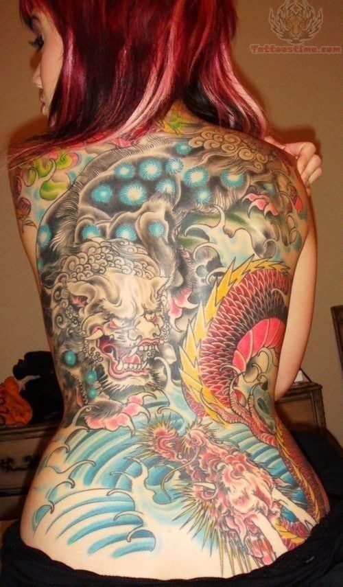 Latest asian tattoo design