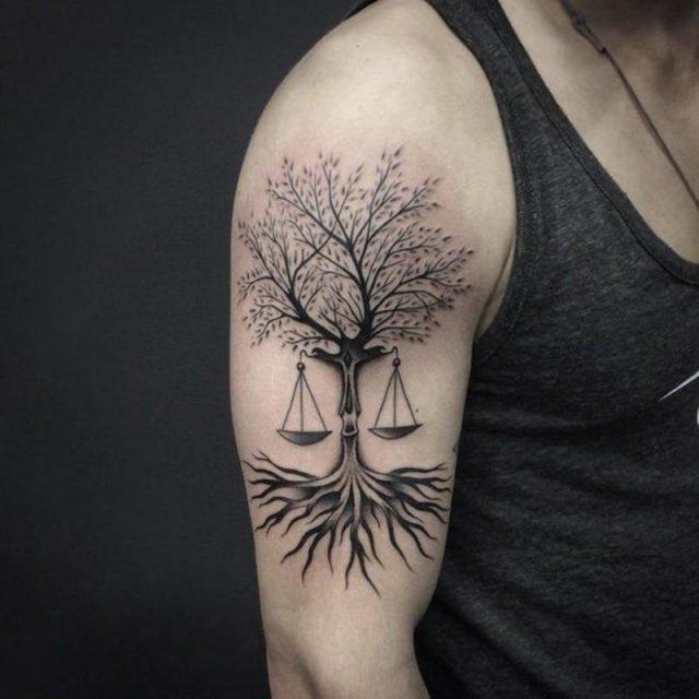 Libra tattoos 94