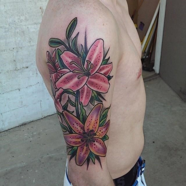 Lily tattoos 12