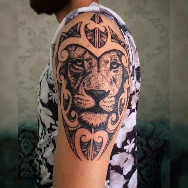 Lion tattoo 310 650×650