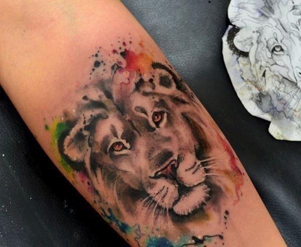 Lion tattoo ideas 58