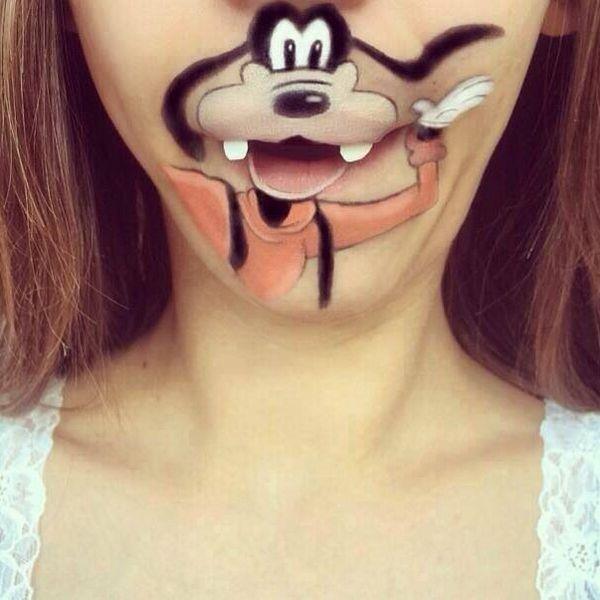 Lip tattoo 18