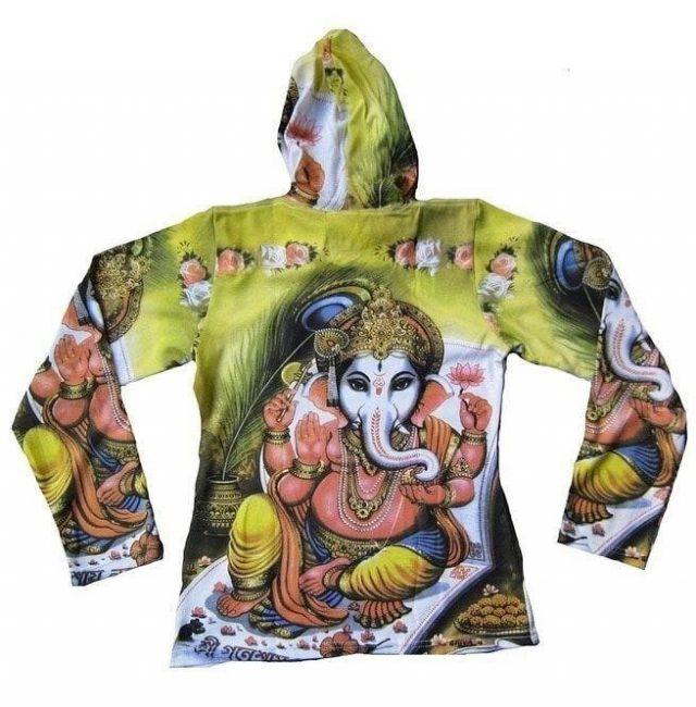 Lord ganesh karma hindu tattoo hoodie hoody t shirt m hoodies and sweatshirts