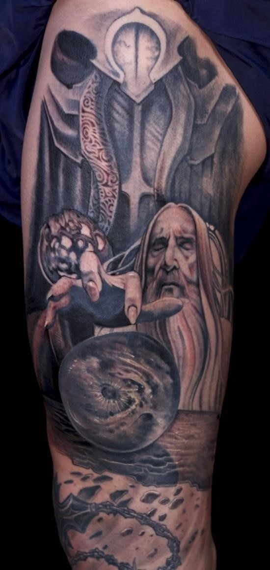 Lord of the rings tattoo 10