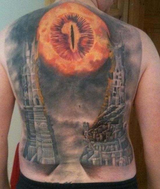 Lord of the rings tattoo 9