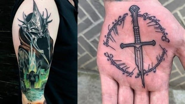 Lord of the rings tattoos fb