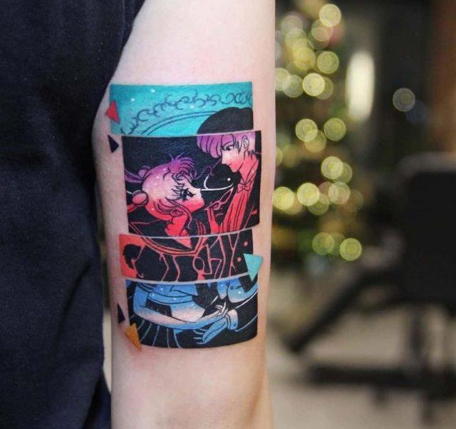 Love sailor moon tattoo
