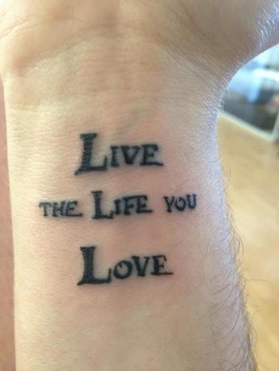 Love tattoo 17