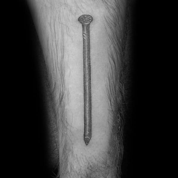 Male carpenter themed tattoos