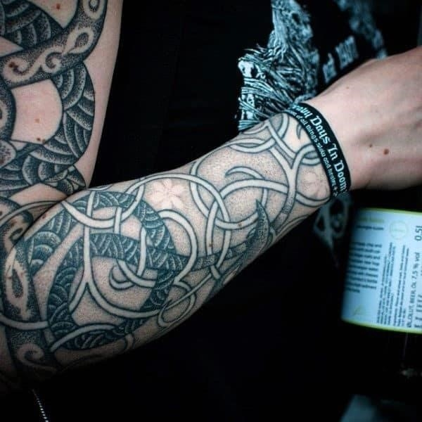 Male sleeves pretty norse tattoo