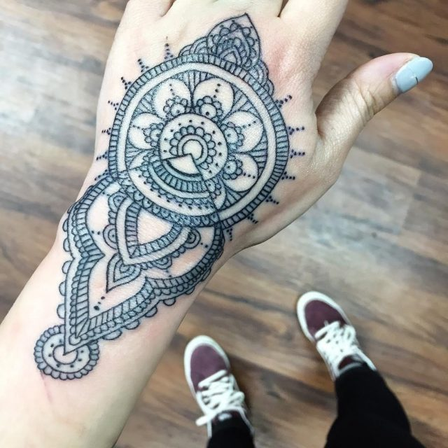 Mandala tattoo 2