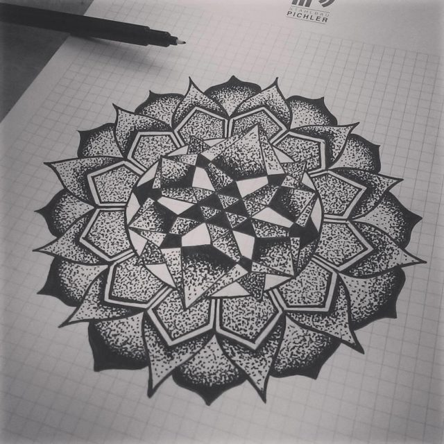 Mandala tattoo 25