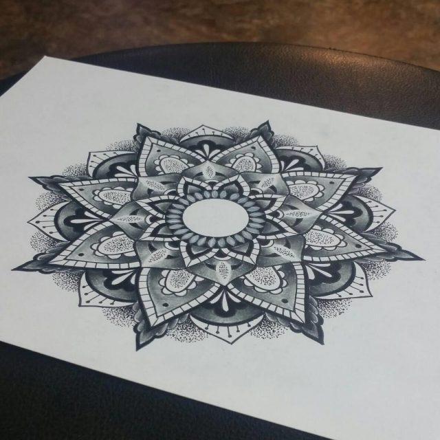 Mandala tattoo 4
