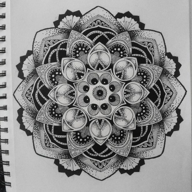 Mandala tattoo 40