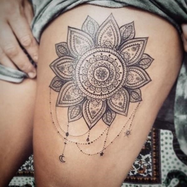 Mandala tattoo designs 45