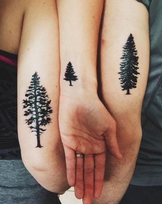 Meaningful sibling tattoos