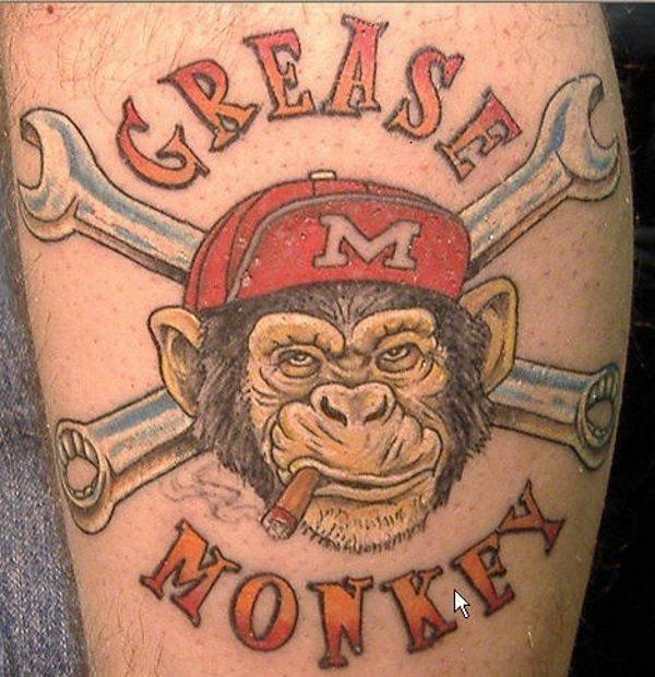 Mechanic tattoo design ideas 4
