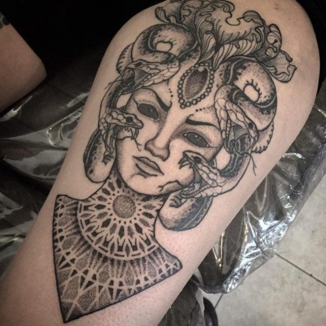 Medusa tattoo 17 650×650
