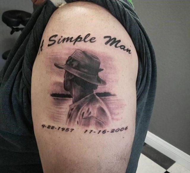 Memorial tattoos for dad 1