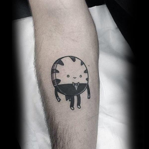 Mens adventure time tattoo design ideas