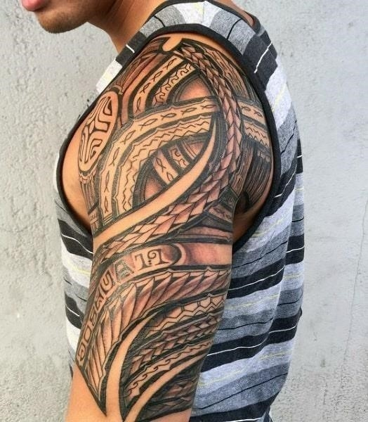 Mens hawaiian tattoo designs