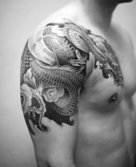 Mens japanese sleeve tattoo designs