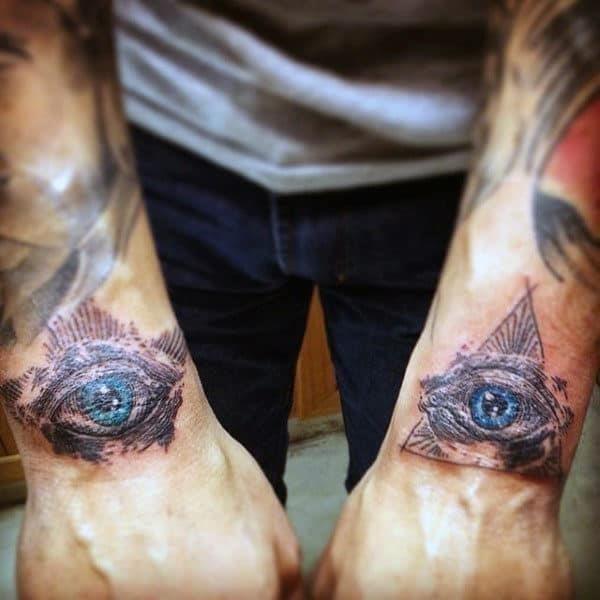 Mens wrist tattoo ideas
