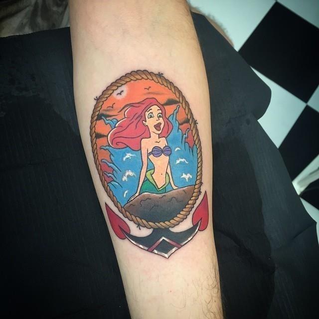 Mermaid tattoo 10