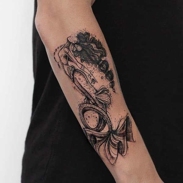 Mermaid tattoo 20091834