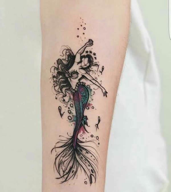 Mermaid tattoo 20091842