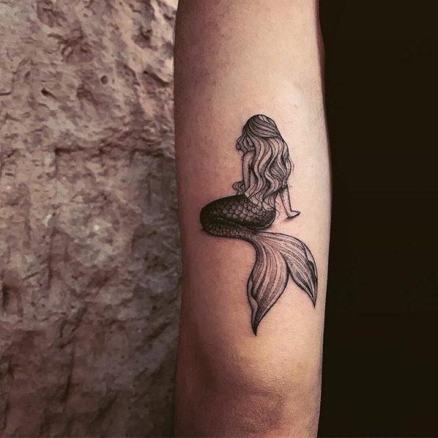 Mermaid tattoos 55